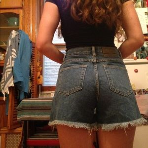 Pants - Vintage high waist shorts